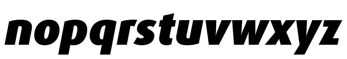Dax Pro Cond Black Italic Font LOWERCASE