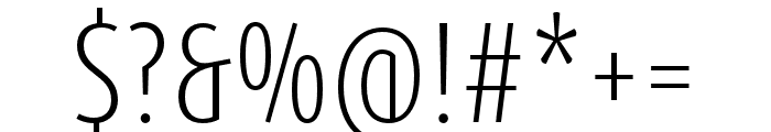 Dax Pro Cond Light Font OTHER CHARS