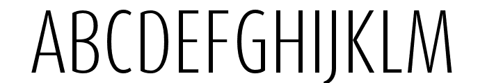Dax Pro Cond Light Font UPPERCASE