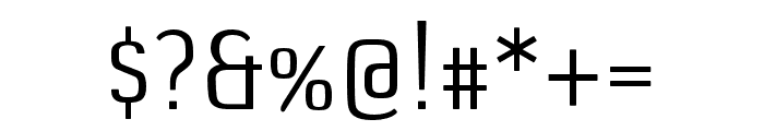 DefaultGothic OT AGauge Font OTHER CHARS