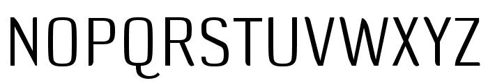 DefaultGothic OT AGauge Font UPPERCASE