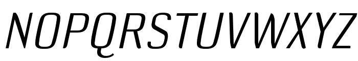 DefaultGothic OT AGaugeItalic Font UPPERCASE