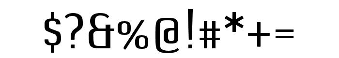 DefaultGothic OT BGauge Font OTHER CHARS