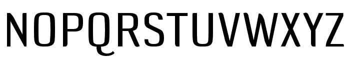 DefaultGothic OT BGauge Font UPPERCASE