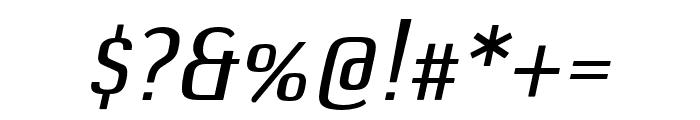 DefaultGothic OT BGaugeItalic Font OTHER CHARS