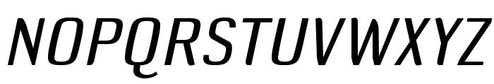 DefaultGothic OT BGaugeItalic Font UPPERCASE