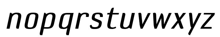 DefaultGothic OT BGaugeItalic Font LOWERCASE