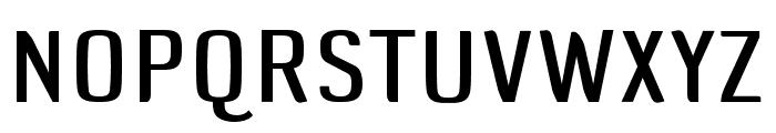 DefaultGothic OT CGauge Font UPPERCASE