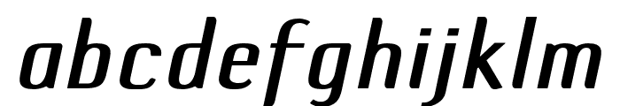 DefaultGothic OT CGaugeItalic Font LOWERCASE