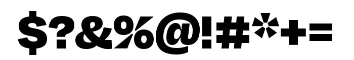 Degular Black Font OTHER CHARS