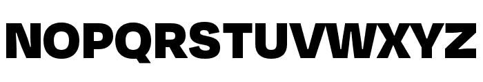 Degular Black Font UPPERCASE