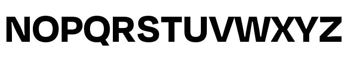Degular Bold Font UPPERCASE