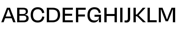 Degular Display Medium Font UPPERCASE