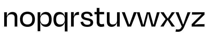 Degular Display Medium Font LOWERCASE