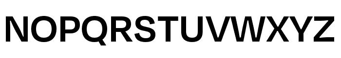 Degular Display Semibold Font UPPERCASE