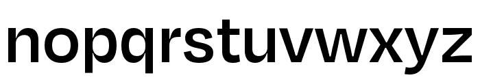 Degular Display Semibold Font LOWERCASE