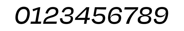 Degular Text Medium Italic Font OTHER CHARS
