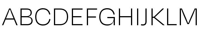 Degular Thin Font UPPERCASE