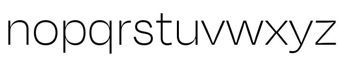 Degular Thin Font LOWERCASE