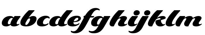 Delaney Black Font LOWERCASE