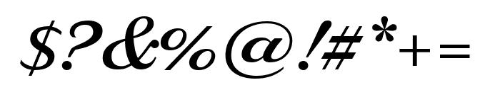 Delaney Semibold Font OTHER CHARS