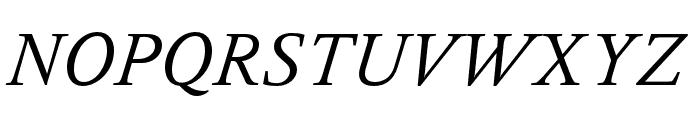 Delicato Pro Italic Font UPPERCASE