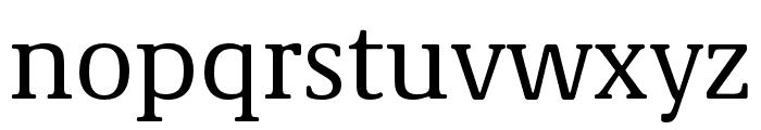Demos Next Pro Cn Font LOWERCASE