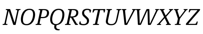 Demos Next Pro Italic Font UPPERCASE
