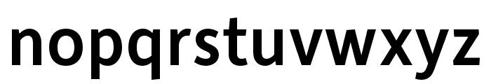 Depot New Condensed Medium Font LOWERCASE