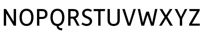 Depot New Condensed Regular Font UPPERCASE