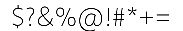 Depot New Condensed Thin Font OTHER CHARS