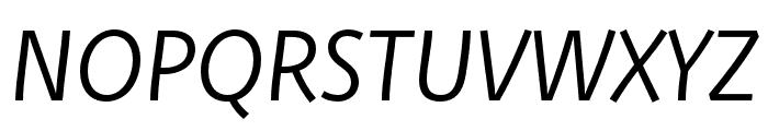 Deva Ideal Ideal Book Italic Font UPPERCASE