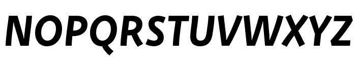 Deva Ideal Ideal Medium Italic Font UPPERCASE