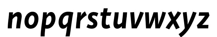 Deva Ideal Ideal Medium Italic Font LOWERCASE