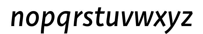 Deva Ideal Ideal Regular Italic Font LOWERCASE