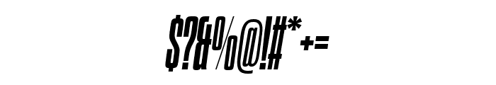 Dharma Gothic C ExBold Italic Font OTHER CHARS
