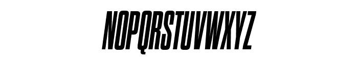 Dharma Gothic C ExBold Italic Font UPPERCASE