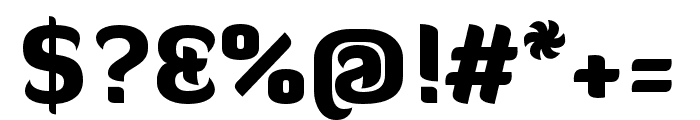 Diavlo Black Font OTHER CHARS