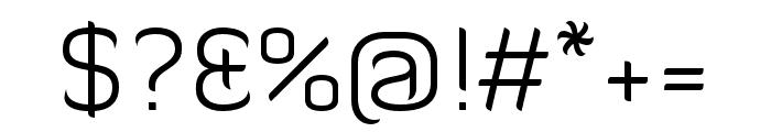Diavlo Light Font OTHER CHARS