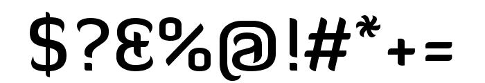Diavlo Medium Font OTHER CHARS