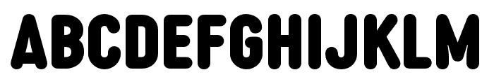 Diazo MVB Rough1 Cond Black Font UPPERCASE