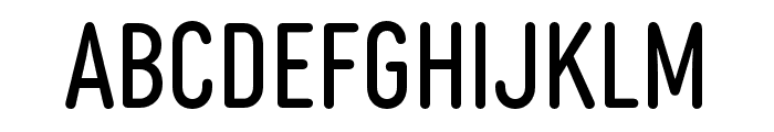 Diazo MVB Rough1 Cond Regular Font LOWERCASE