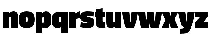 DicSans Black Font LOWERCASE