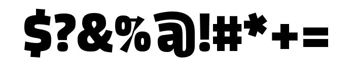 DicSans ExtraBold Font OTHER CHARS