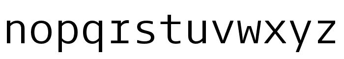 Dico Code Two Regular Font LOWERCASE