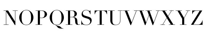 Didot LT Pro Headline Font UPPERCASE