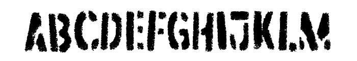 Dirtstorm Regular Font LOWERCASE