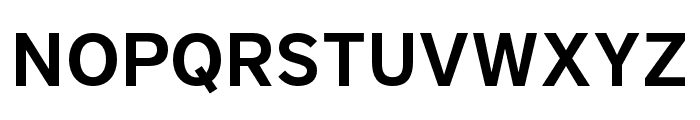 District Pro Demi Font UPPERCASE