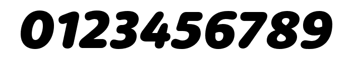 Dita Cd Extrabold Italic Font OTHER CHARS