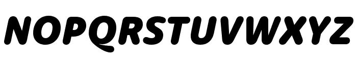 Dita Extrabold Italic Font UPPERCASE